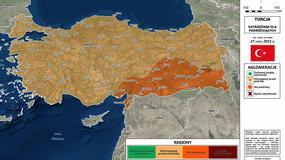 MSZ ostrzega przed wyjazdami do południowo-wschodniej Turcji