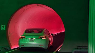 Tesla drivers in Elon Musk's tunnel taxis reportedly aren't allowed to talk about him during rides