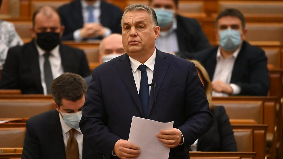 Orbán Viktor miniszterelnök / Fotó: MTI/Illyés Tibor