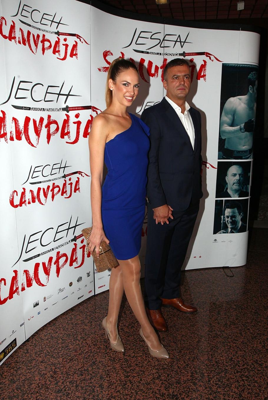 Jovana Guzijan i Sergej Trifunović