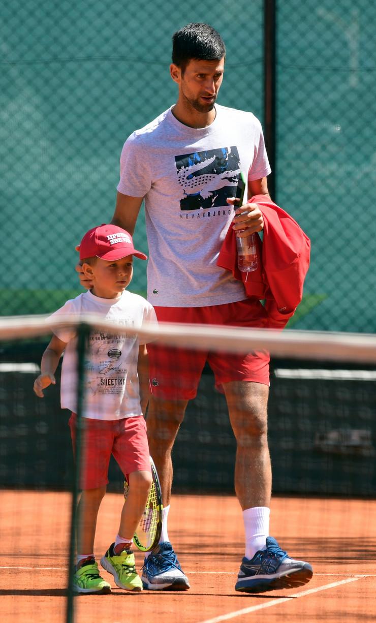 Novak i Stefan Đoković na Adria tour turniru u Beogradu