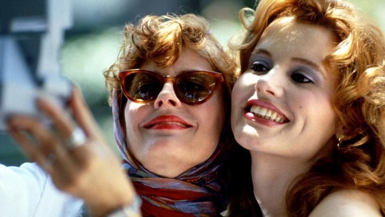 """Thelma i Louise"" - kadr z filmu"