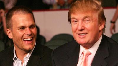 Trump's golf buddy Tom Brady jokes about people not accepting Biden's 2020 win at White House ceremony