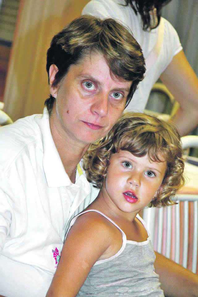 Borislava Perić Ranković sa ćerkicom