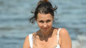 Festiwal w Międzyzdrojach: Anna Popek w skąpym stroju na plaży. Kto jeszcze się pojawił?