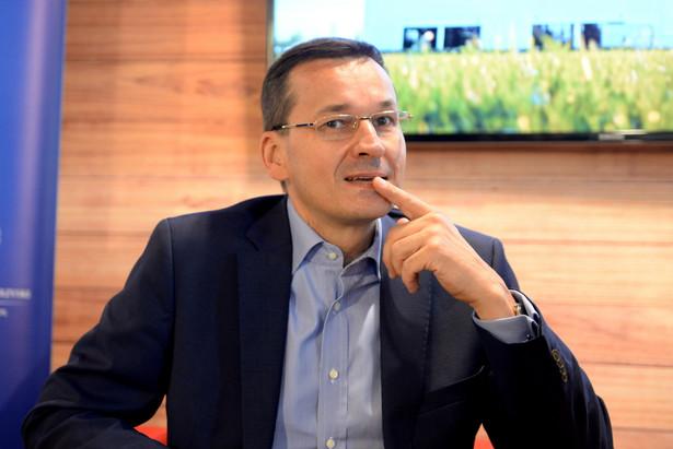 Wicepremier i minister rozwoju Mateusz Morawiecki, PAP/Piotr Polak