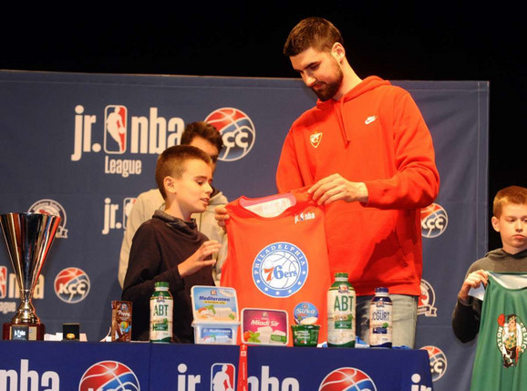 Biranje ekipa za Draft Junior NBA
