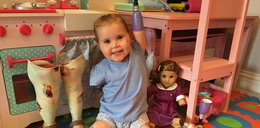 Urodziła się bez rączek i nóżek. Otrzymała niezwykły prezent