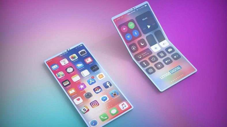 Chwalebne Galaxy Fold według Apple. Firma patentuje pomysł na rozkładany NK45
