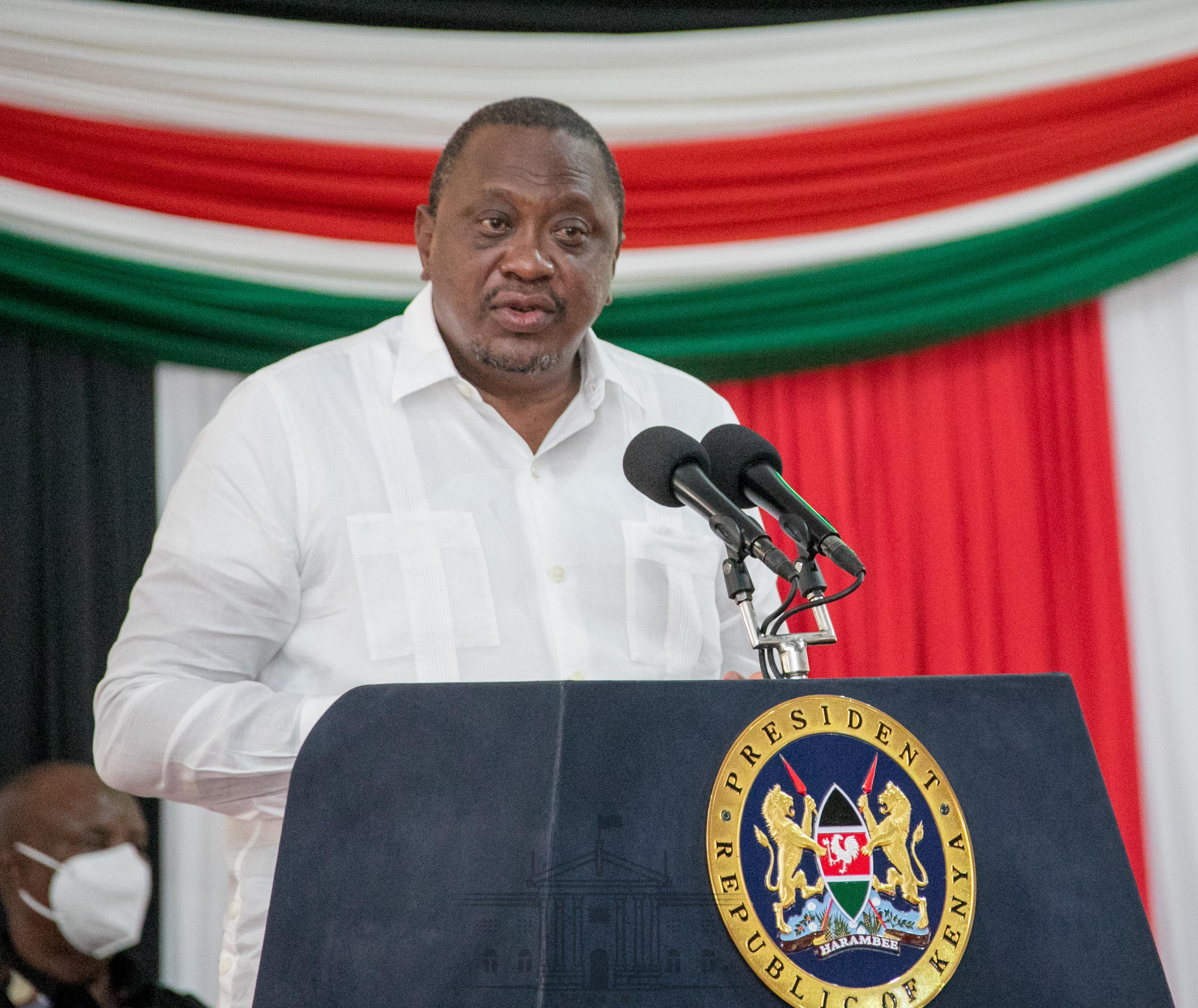 President Uhuru Kenyatta in April revealed the country is in the process of developing a Greenhouse Gas Emission Strategy (LTS) for 2050; and will submit the report to United Nations Framework for Convention on Climate Change before COP 26, in November 2021.