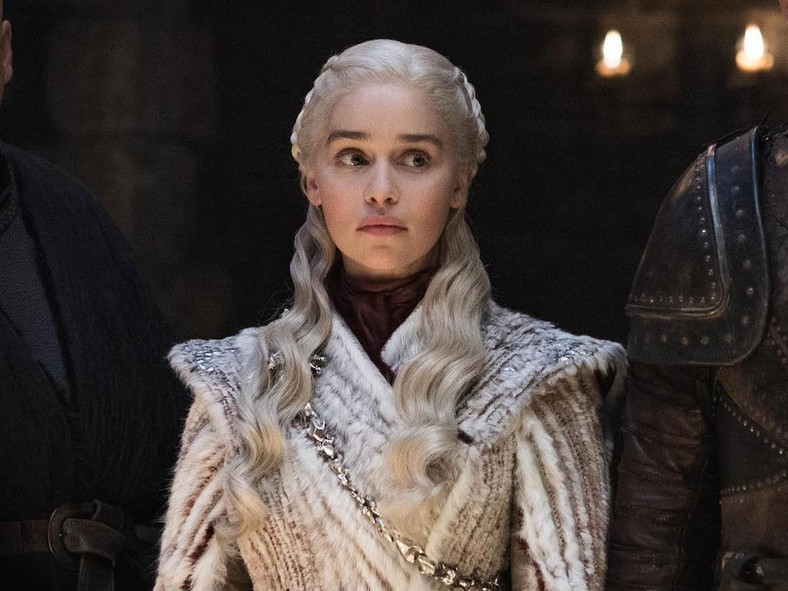 Daenerys has emerged the new Queen of the Seven Kingdoms after conquering King's Landing. [HBO]