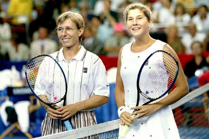 Monika i Martina Navratilova