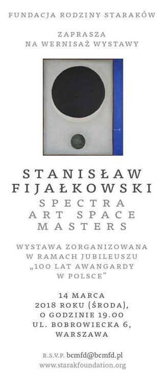 Wystawa Stanisława Fijałkowskiego