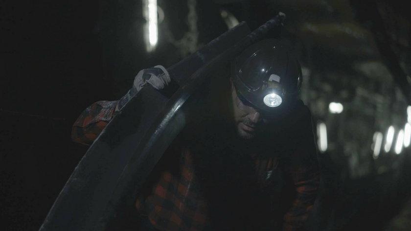 Saleta w roli śląskiego górnika