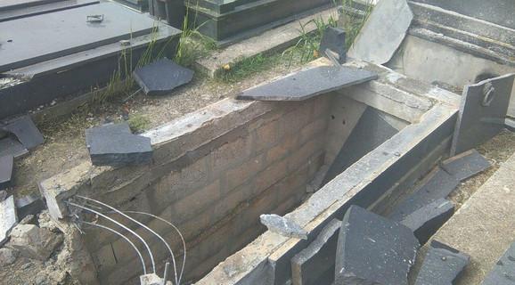 Bomba postavljena u grob Luke Đurovića bila je namenjena njegovoj porodici