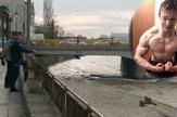 NIS02 mesto na nisavskom keju kod Betonskog mosta na kojem je mladic star 17 godina upao u Nisavu foto B.Janackovic
