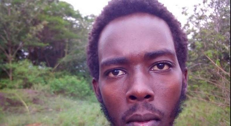 Brian Bera Kibet, JKUAT student who attempted to jump over State House gate