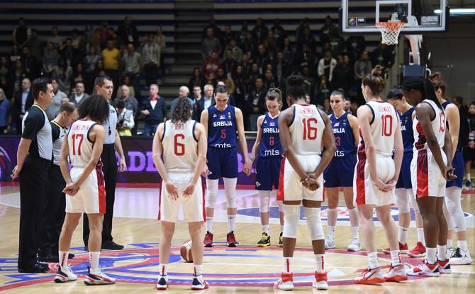 Naš tim i ekipa Amerike večeras odmerili snage u Beogradu