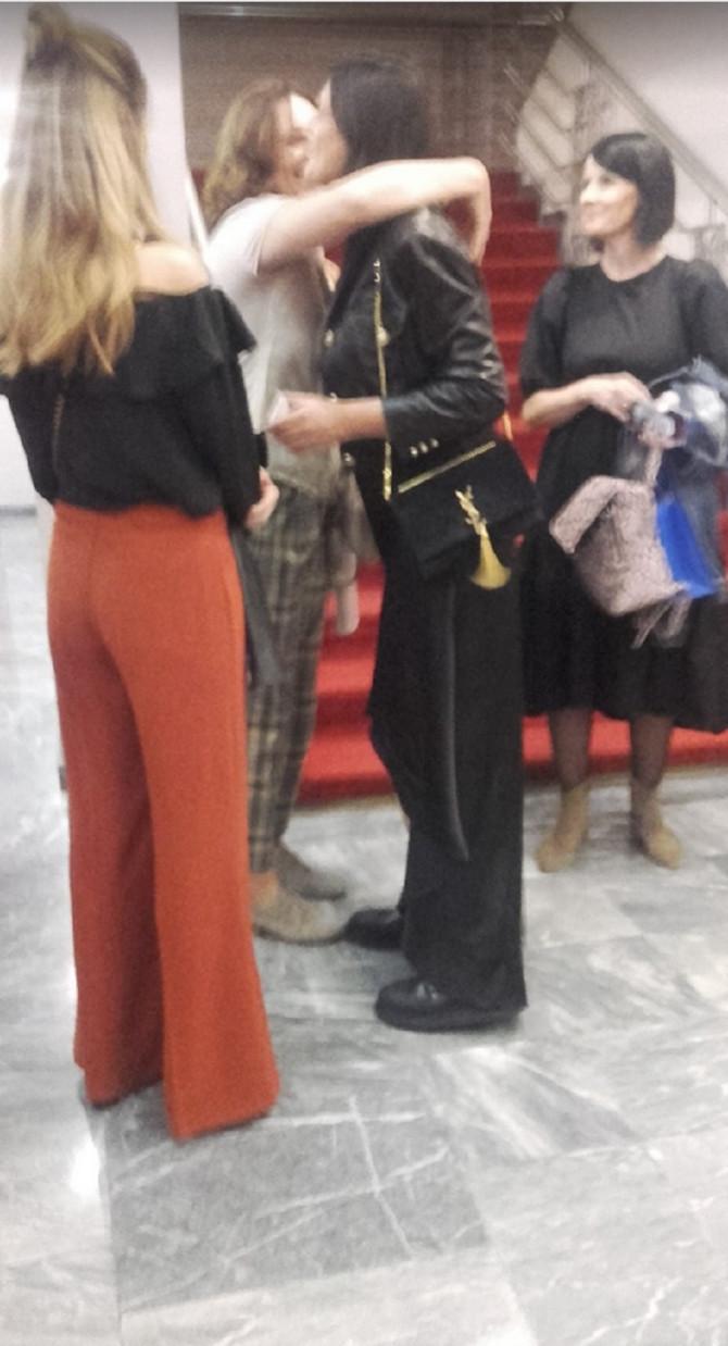 Slavica Ninković i Maja Bjelogrlić (na slici je i glumica Nina Janković Dičić)