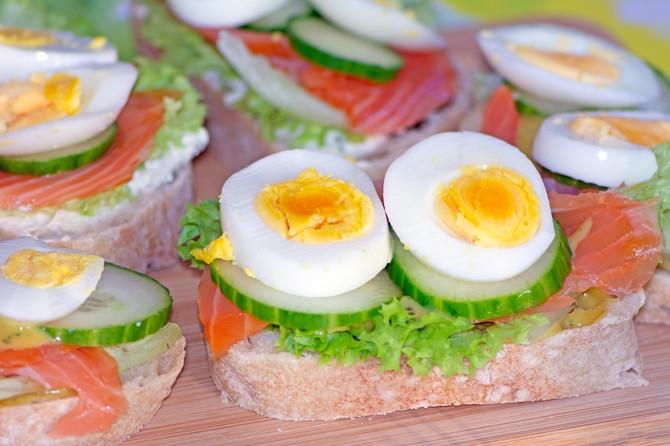 Tri jaja na dan (mada ne svakodnevno) prava je mera