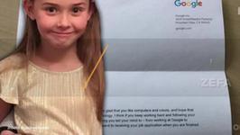 7-latka napisała list do Google z prośbą o pracę. Odpisał jej sam szef