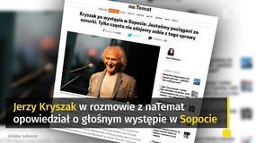 Jerzy Kryszak: jesteśmy pociągani za sznurki