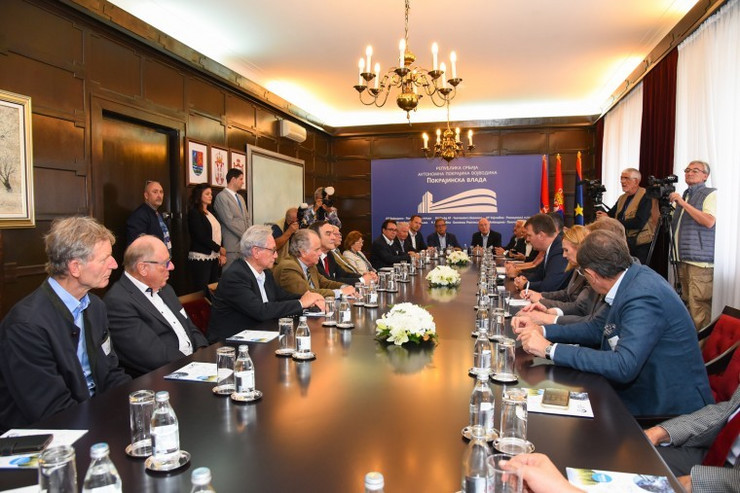 Igor Mirović sa delegacijom konzularnog kora Baden-Virtemberga