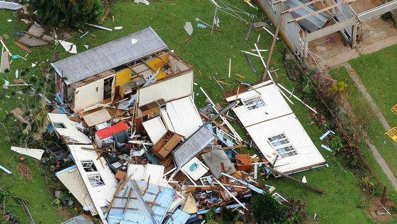 Pierwsza ofiara śmiertelna cyklonu Yasi