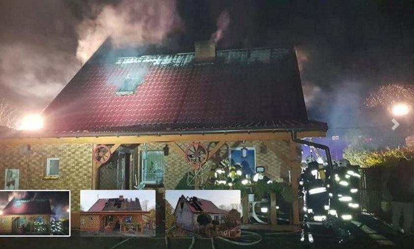 Dąbrowa: bracia uratowali w sylwestra rodzinę przed pożarem