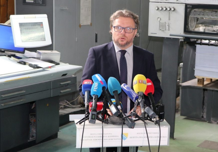 Željko Bakalar predsjednik CIK BiH