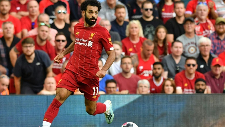 Liverpool's Mohamed Salah scored a stunner against Arsenal