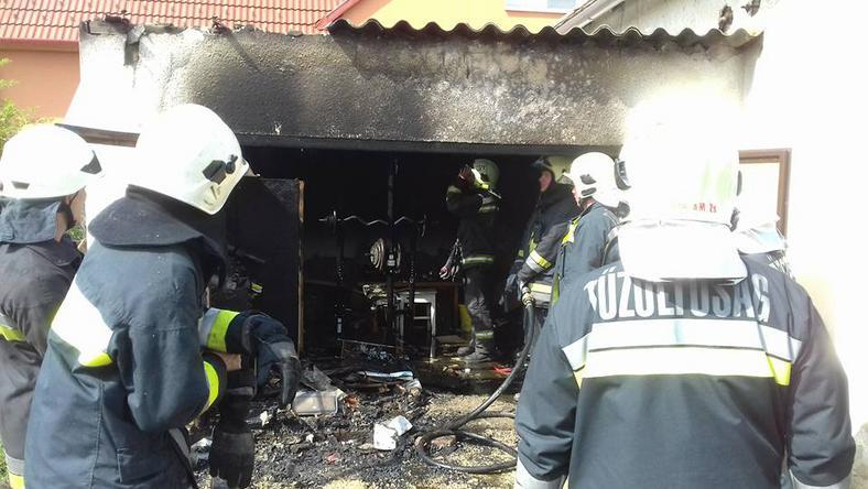 Igazi hősök: Kele Krisztián és Maticsek József megmentett egy 10 éves kislányt/ az oltást már a Győrszemere Önkéntes Tűzoltó Egyesület végezte