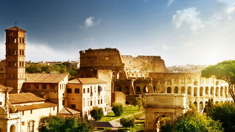 Widok Rzymu