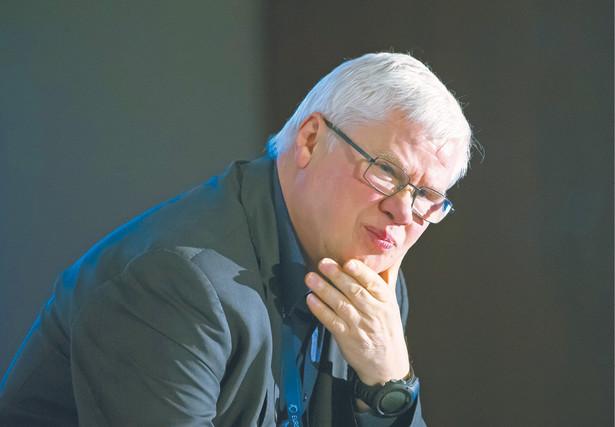 Jerzy Hausner ekonomista i polityk, minister w rządach Leszka Millera i Marka Belki, członek Rady Polityki Pieniężnej w latach 2010–2016