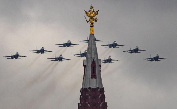 Wojskowa parada w Rosji EPA/SERGEI ILNITSKY Dostawca: PAP/EPA.
