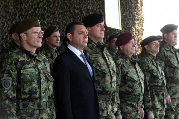 Svečani prijem povodom Dana Vojske Srbije