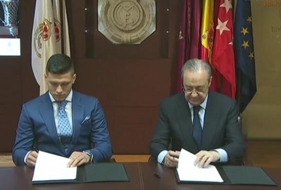 Luka Jović i Florentino Perez, predsednik Reala