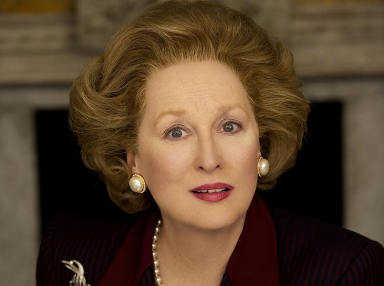 "Meryl Streep jako ""Żelazna dama"""
