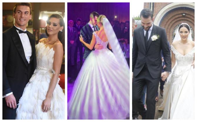 Glamurozne svadbe o kojima je Srbija pričala