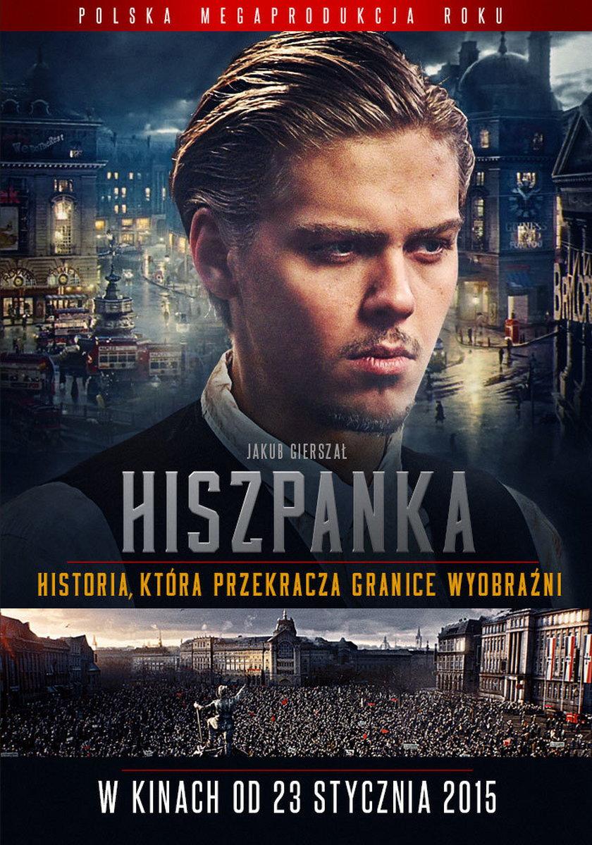 "Plakat do filmu ""Hiszpanka"""