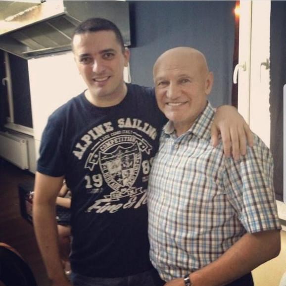 Mirsad Kerić i Šaban Šaulić