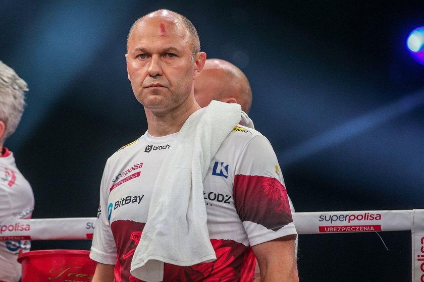 Łapin to trener, który pracuje w największej polskiej grupie promotorskiej KnockOut Promotions od 17 lat.