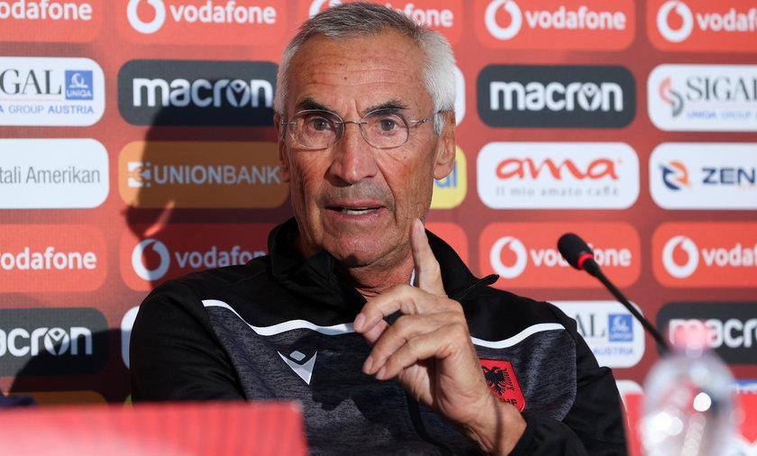 Edoardo Reja jest selekcjonerem reprezentacji Albanii
