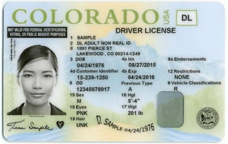 kolorado foto Promo Colorado Department of Motor Vehicles