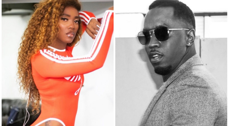 Diddy tells Tiwa Savage he will come to Nigeria soon, dances to 'Attention' [Video]