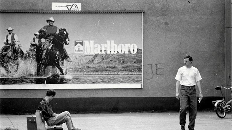 14.05.1993 Katowice Józefowiec , ulica Józefowska