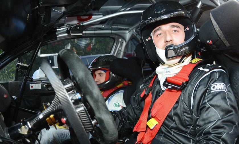 Robert Kubica, Trofeo Rally Di Como
