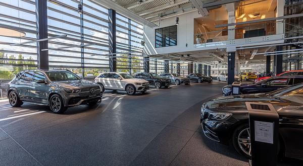 Największy salon Mercedesa w Polsce