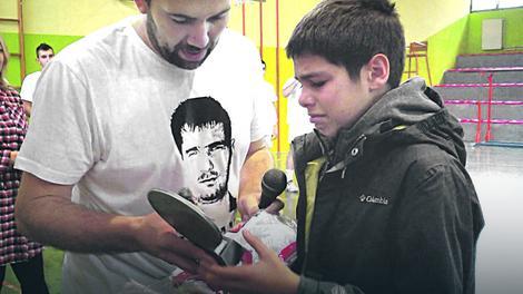 Poklon od kluba: Zoranov sin Luka