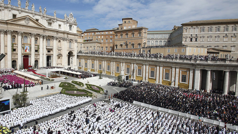 Uroczystości beatyfikacyjne w Watykanie